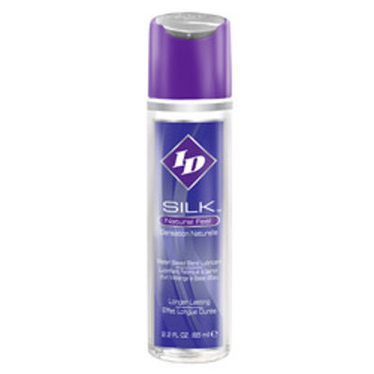 Picture of ID Silk Natural Feel Water Based Lubricant 2.2floz/65mls