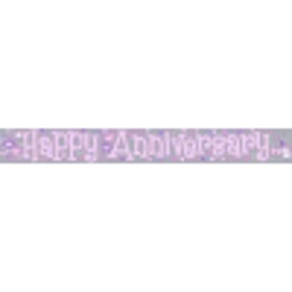 Picture of Party Celebration Banner - Happy Anniversary Wedding Anniversary