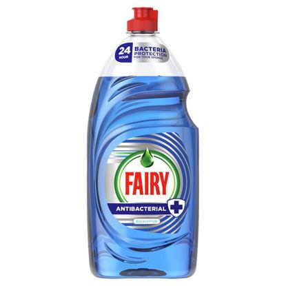 Picture of Fairy Antibacterial Washing Up Liquid Eucalyptus 900 ml