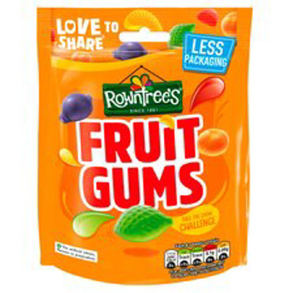 Picture of Rowntrees Fruit Gums Pouch Bag 150G