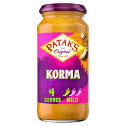 Picture of Pataks Mild Korma Sauce 450G