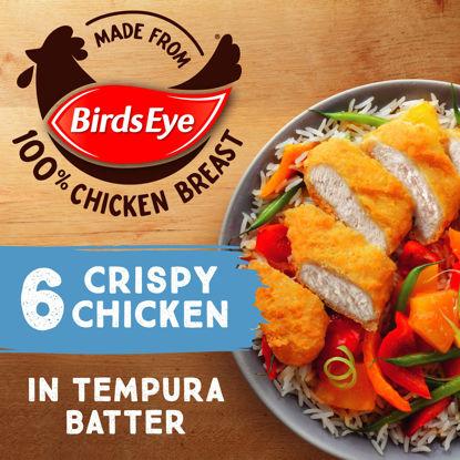 Picture of Birds Eye 6 Crispy Chicken in Tempura Batter 510g