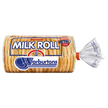 Picture of Warburtons Retro Pack Blackpool Milk Roll 400g
