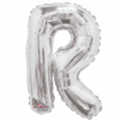 Picture of SILVER LETTER BALLOON R 14INCH