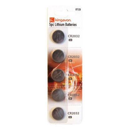 Picture of Kingavon BB-BT128 CR2032 3V Tear Off Lithium Batteries