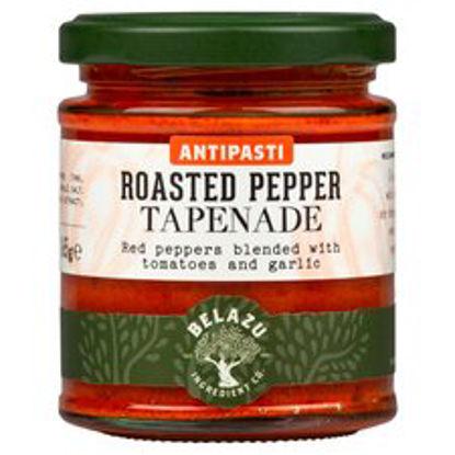 Picture of Belazu Antipasti Roasted Pepper Tapenade 165G