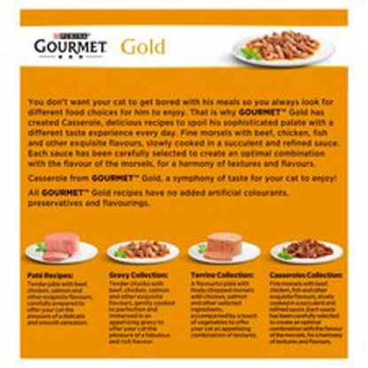 Picture of Purina Gourmet Gold Tinned Double Delicacies 8X85g