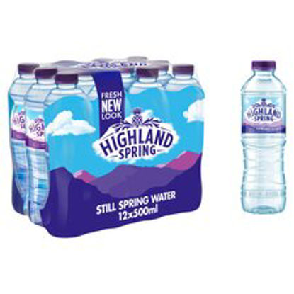 Picture of Highland Spring Still Water 12X500ml Pm £2