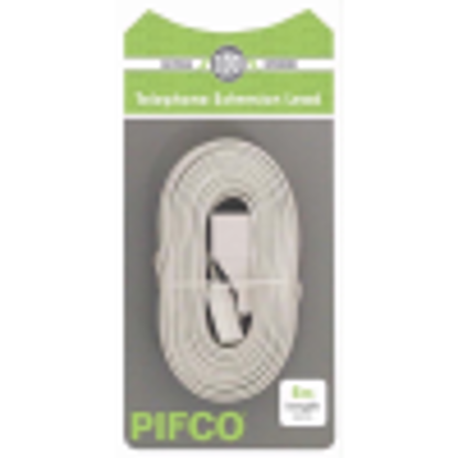 Picture of PIFCO  TEL EXT LEAD 5M