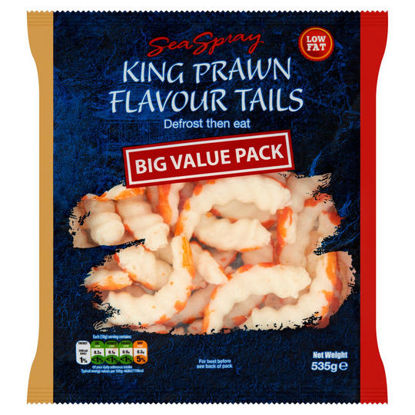 Picture of Sea Spray King Prawn Flavour Tails 535g