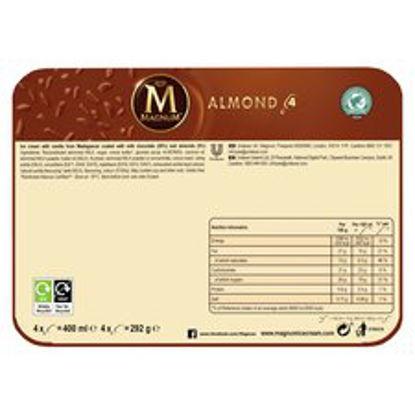 Picture of Magnum Almond Ice Cream 4 X 100Ml