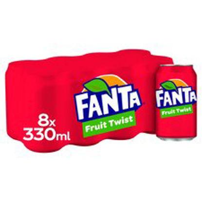 Picture of Fanta Fruit Twist 8X330ml