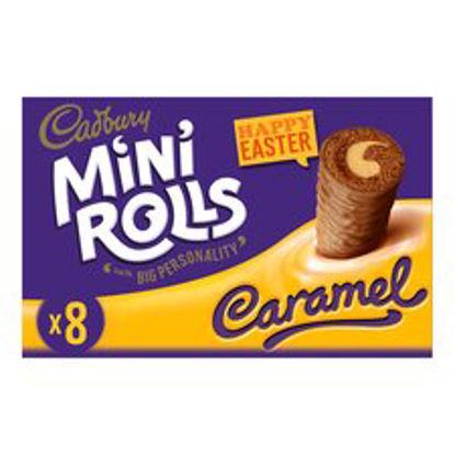 Picture of Cadbury Caramel Mini Rolls 8 Pack