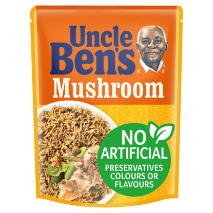 Picture of Uncle Bens Special Mushroom Rice 250G
