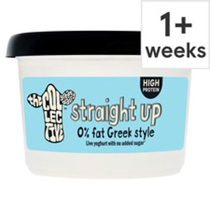 Picture of The Collective Straight Up 0% Live Yogurt 450G