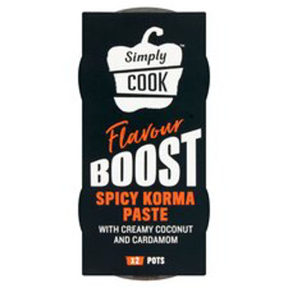 Picture of Simply Cook Spicy Korma Paste 2 X 50G