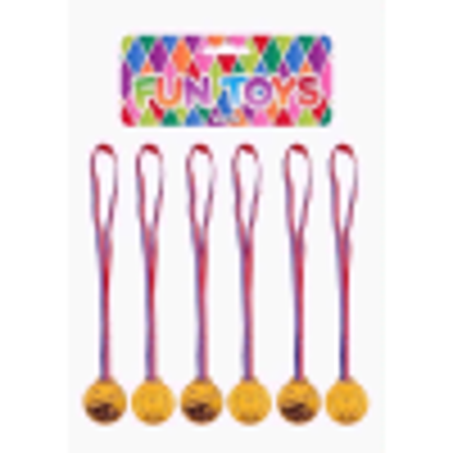 Picture of PARTY TIME FUN TOYS  MEDAL GOLD WINNERS 6PC