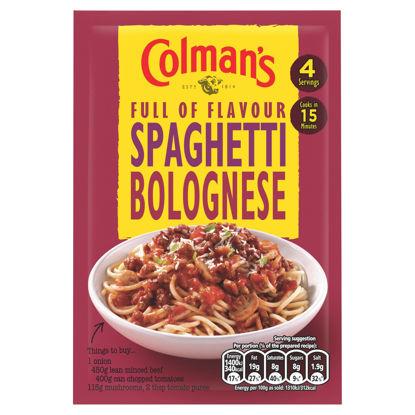 Picture of Colman's Spaghetti Bolognese Recipe Mix 44G