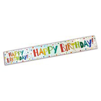 Picture of Tesco Happy Birthday Banner