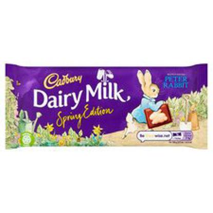 Picture of Cadbury Dairy Milk Chocolate Easter Hoppy Bunny Bar 100G