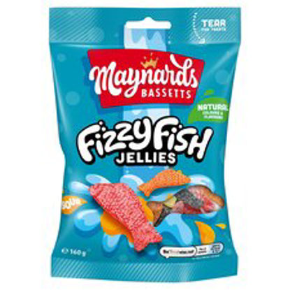 Picture of Maynard Bassetts Fizzy Fish Sweets160g