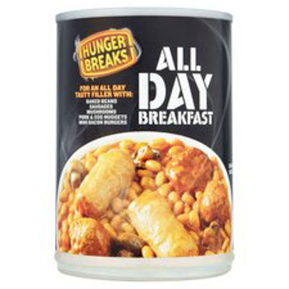 Picture of Hunger Breaks All Day Breakfast, 395g