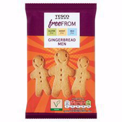Picture of Tesco Free From Gingerbread Men 154G