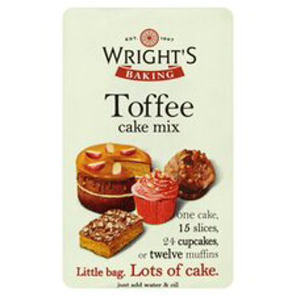 Picture of Wright's Baking Toffee Cake Mix 500G