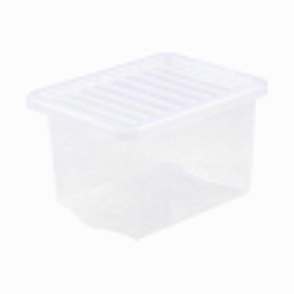 Picture of WHAM CRYSTAL 24LTR CLEAR BOX & LID