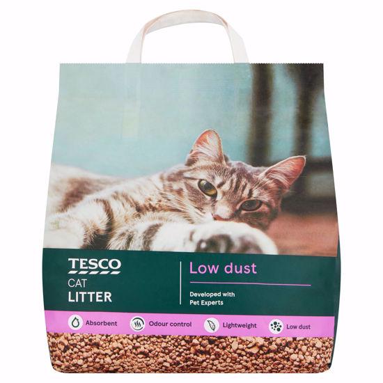 Picture of Tesco Low Dust Cat Litter 10L