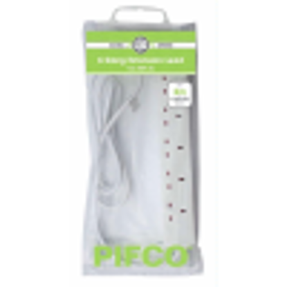 Picture of Eurosonic 2m 6-Gang Extension Lead