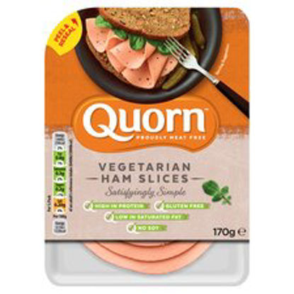 Picture of Quorn Vegetarian Ham Slices 170G