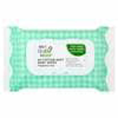 Picture of My Little Star Fragrance Free Cotton Baby Wipes x64