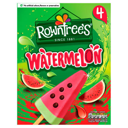 Picture of Rowntrees Watermelon Lolly 4X73ml