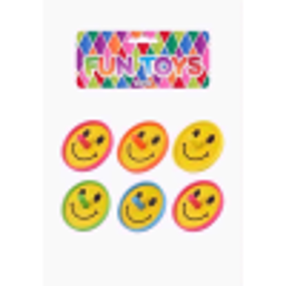 Picture of PARTY TIME FUN TOYS SPINNING TOP SMILE 8PC