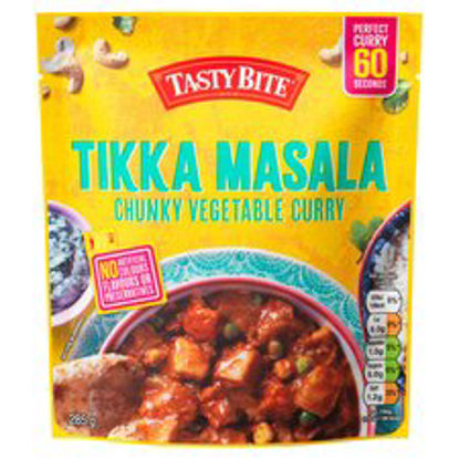 Picture of Tasty Bite Tikka Masala Vegetable Curry 285G
