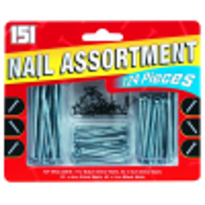 Picture of Nail Assortment 124 piece