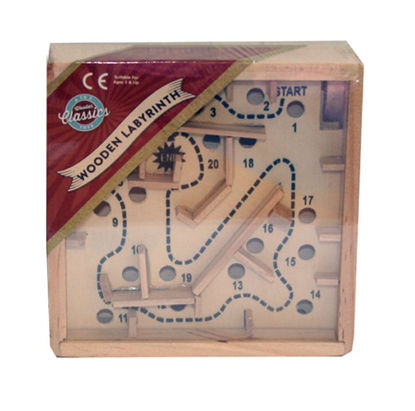 Picture of A to Z Toys Classic Wooden Labyrinth