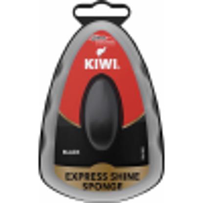 Picture of KIWI EXPRESS SHOE POLISH SPONGE BLACK PK3