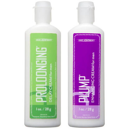 Picture of Doc Johnson Prolong and Plump Enhancement Cream Pack