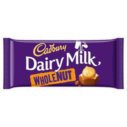 Picture of Cadbury Dairy Milk Whole Nut Chocolate Bar 200G