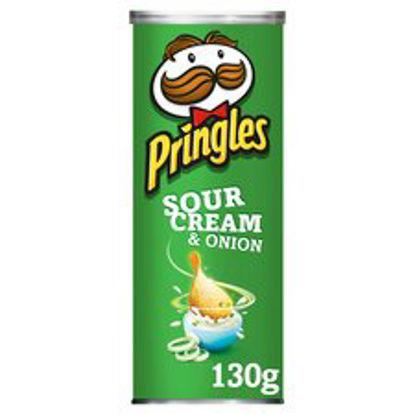 Picture of Pringles Sour Cream & Onion 130G