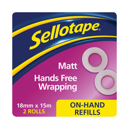 Picture of Sellotape On Hand Refills Invisible