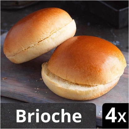 Picture of Iceland Luxury 4 Sliced Brioche Rolls