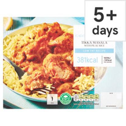 Picture of Tesco Healthy Living Chicken Tikka Masala & Pilau Rice 400G