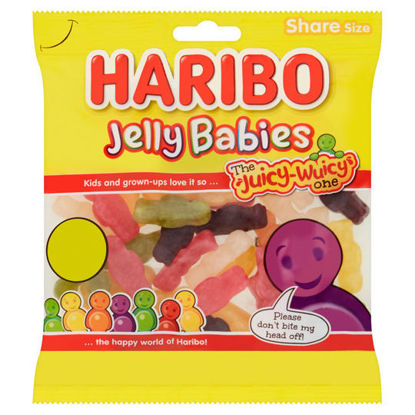 Picture of Haribo Jelly Babies 180G