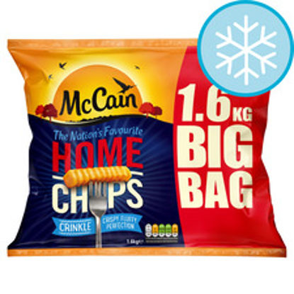 Picture of Mccain Home Chips Crinkle Cut 1.6Kg