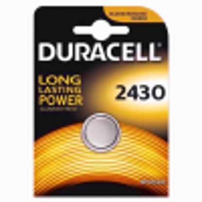 Picture of Duracell Battery Electronics 2430 ®, USA Code, Iec-Code Electronic (CR2430) 3 V