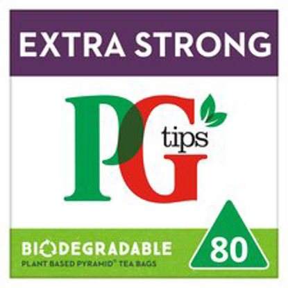 Picture of Pg Tips Extra Strong Pyramid 80S Teabags 232G