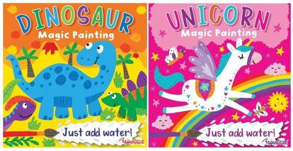 Picture of Unicorn & Dinosaur Magic Painting Book - 20 x 20cm - 0% VAT